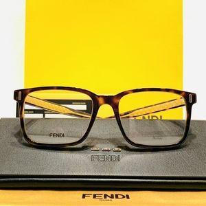 Fendi Glasses Style FFM0047 Tortoise & Gold